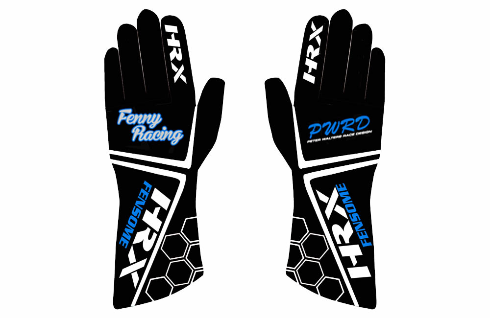 Aaron Fensome Custom Gloves