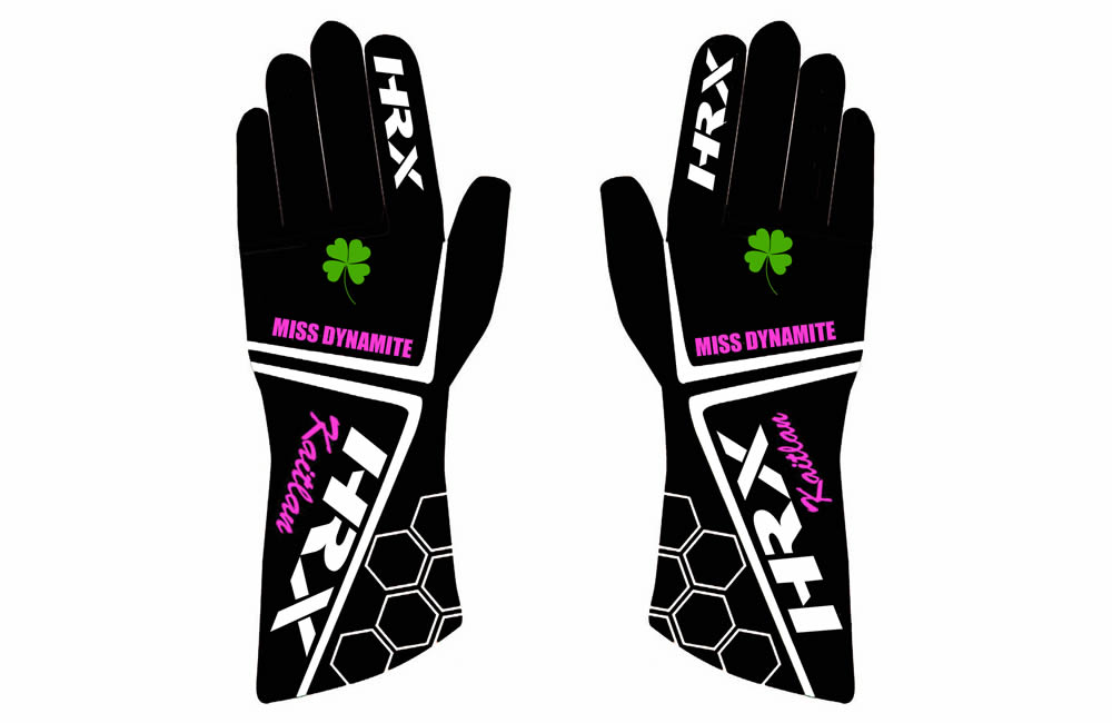 Kaitlan Deevy Custom Gloves