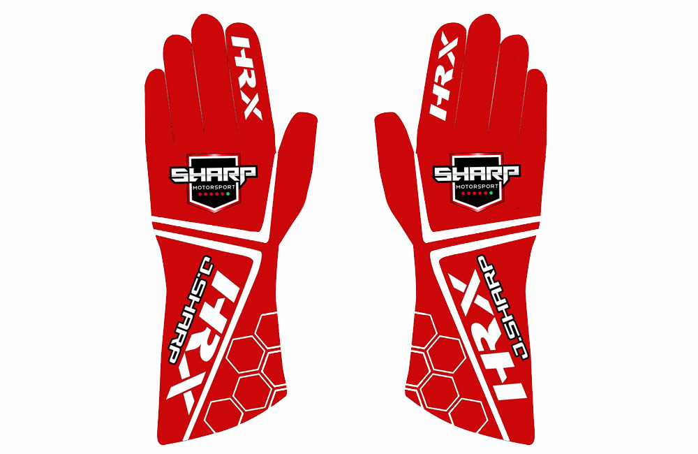 Jamie Sharp Custom Gloves
